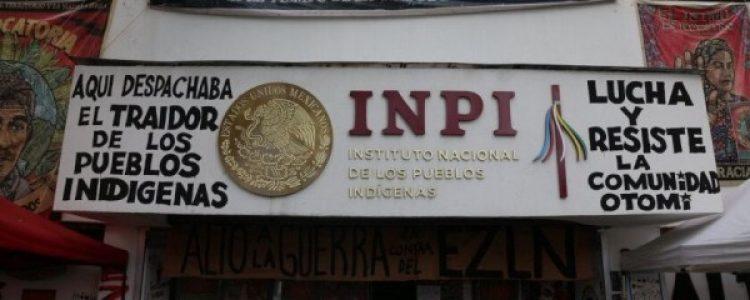 México. Gobierno sólo ofrece «promesas y simulaciones» a demandas de otomís en el Instituto Nacional de Pueblos Indigenas