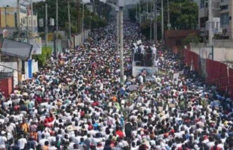 Haití. Continúa el levantamiento popular contra el presidente Moise /Fuerte represión: un muerto y varios heridos