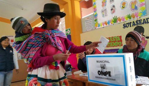Perú. ¿Cómo se espera que deba aparecer el tema indígena en la campaña??
