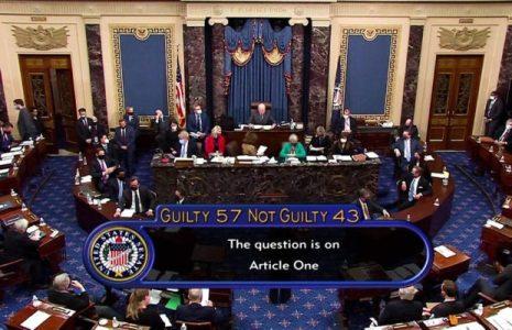 Estados Unidos. Absolución de Trump: Varios republicanos votaron junto con los demócratas a favor de la condena