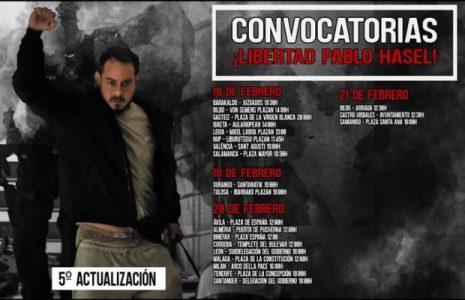 Estado español. Tercer día de protestas por el encarcelamiento del rapero Pablo Hasél y lxs manifestantes detenidxs