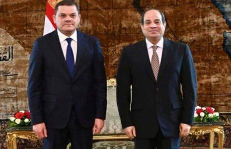 Egipto. Presidente egipcio reitera apoyo a Libia en búsqueda de paz