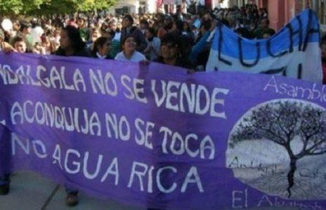 Argentina. Envían a la Gendarmería para garantizar la megaminería en Andalgalá