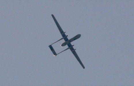 Palestina. Combatientes palestinos derriban un dron espía israelí en Gaza