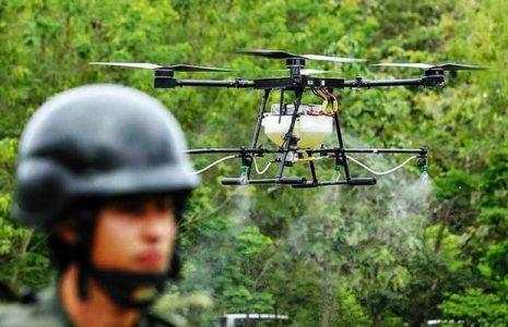Colombia. Duque acusado de «bombardear con glifosato» en un reclamo que toca a Biden
