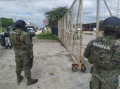 México. Detienen a 30 marinos por desaparición forzada