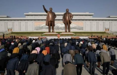 Corea del Norte.El Día del Sol: así celebra la población el nacimiento del fundador del país