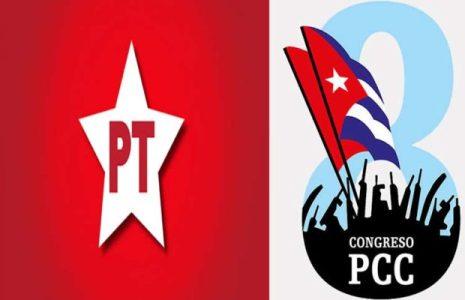 Cuba. Partido de los Trabajadores de Brasil saluda el 8vo Congreso del Partido Comunista de Cuba