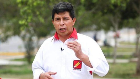Perú. La opinión de Pedro Castillo sobre algunas instituciones