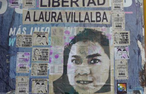 Argentina. Intervención artística del Frente Cultural Che Adelita en apoyo a la Campaña internacional Eran Niñas