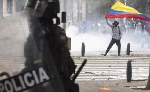 Colombia. Cali, centro de la resistencia a la represión