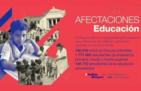 Cuba. El significado real del bloqueo para la Educación