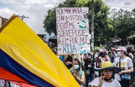 Colombia. Mucha participación y combatividad en la gran Marcha de las Madres y Mujeres de Cali y el Pacífico