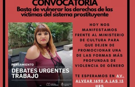 Argentina. Ministerio de la Cultura Prostituyente