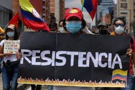Colombia. Desde Cali, los jóvenes advierten que la lucha sigue y que si el Gobierno quiere diálogo «que venga a los puntos de resistencia» /Este miércoles jornada nacional de lucha (video)