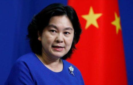 China. Los  juegos de guerra conjuntos de Estados Unidos, Francia y Japón no los asustan