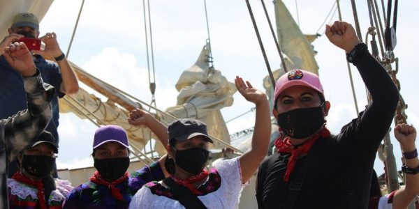 México. EZLN: «Y todavía hay que atravesar el Atlántico»
