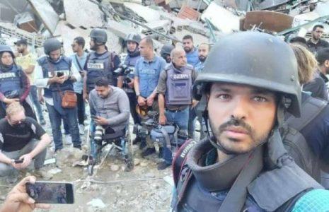 Palestina. Periodistas  hacen un llamado a las Naciones Unidas para protegerlos de la agresión israelí