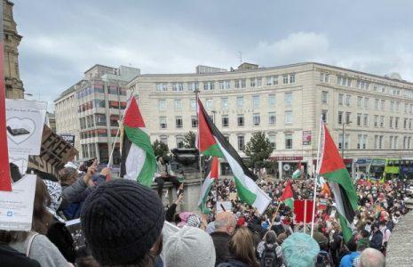 Internacional. Marchas y demostraciones de apoyo para Palestina en todo el mundo