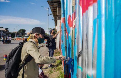 Colombia. El aerosol pinta resistencias en Cali (fotoreportaje)