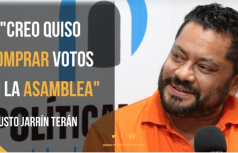 Ecuador. «CREO contactó a los compañeros para comprar votos», Fausto Jarrín