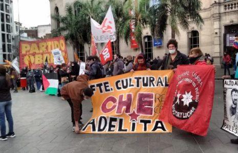 Argentina. Córdoba: Acto solidario con Palestina y contra la criminalidad sionista /Participación del Frente Cultural Che Adelita