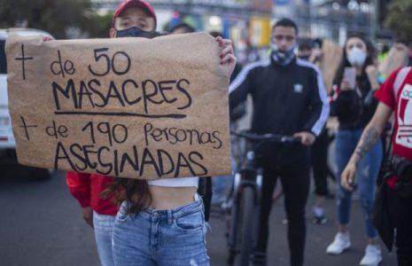 Colombia. Denuncian masacre en el Cauca, la número 40 durante el 2021
