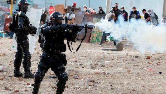 Colombia: La represión policial deja otra jornada sangrienta con cientos de heridos y detenidos