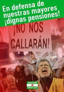Nación Andaluza contra la privatización de las pensiones de Escrivá