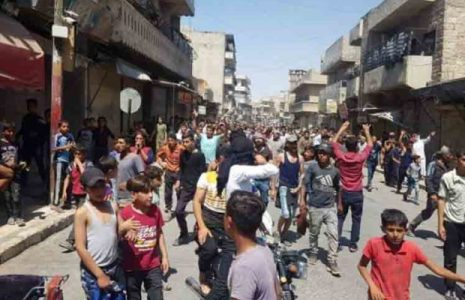 Siria. Levantamiento popular contra milicia proestadounidense