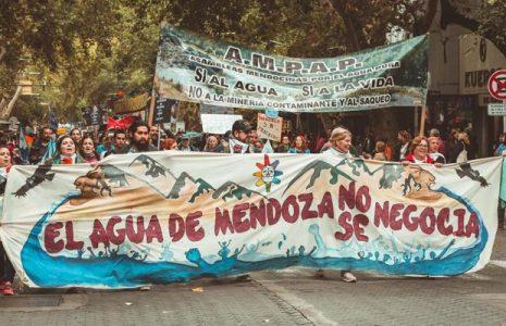 Argentina. Mendoza. El pueblo no se rinde en defensa del agua /Solidaridad con los imputados por movilizarse