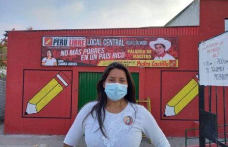 """Perú. Zaira Arias: """"Lxs sin voz van a tener la posibilidad de que un gobierno al fin los escuche"""""""