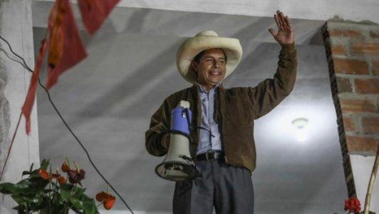 """Perú. Pedro Castillo: """"Seré el primero en hacer respetar la voluntad del pueblo peruano"""""""