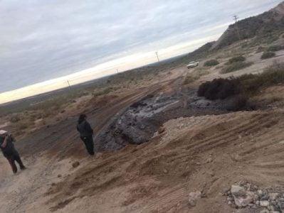 Nación Mapuche. Río Negro: Derrame petrolero en la Comunidad Newen Kurruf