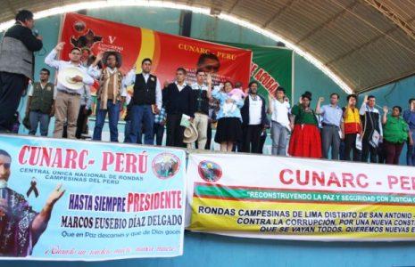 Perú. Los ronderos convocan marcha el 16 de junio a la ciudad de Lima para defender la victoria del pueblo