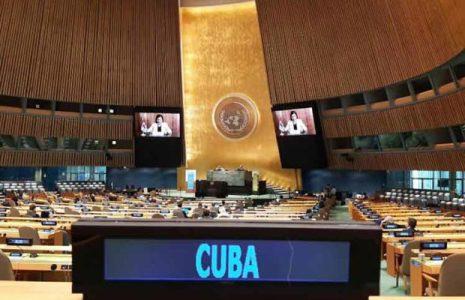 Cuba. Mantiene voluntad de cumplir Agenda 2030 de ONU