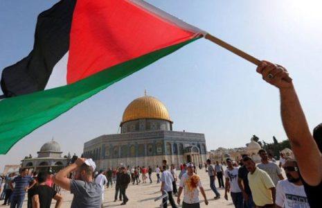 Palestina. Grupos palestinos alaban su unidad frente a la marcha de los extremistas israelíes en Al Quds