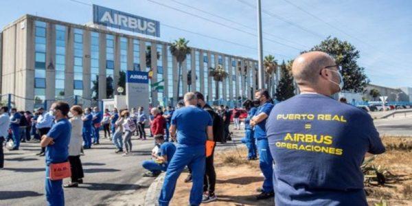 Nación Andaluza apoya la huelga de hoy en Cádiz contra el cierre de AIRBUS