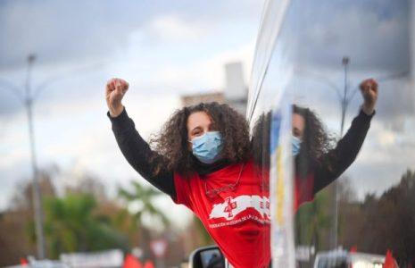 Uruguay. Paro general: Con los puños llenos de verdades (fotos)