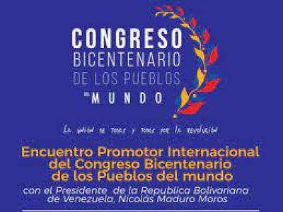 Venezuela. Fue inaugurado el Congreso Bicentenario de los pueblos del mundo /Importante asistencia de delegadxs en Caracas (video)