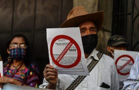 Guatemala. Víctimas del Conflicto Armado Interno rechazan proyecto de ley que busca amnistía para militares