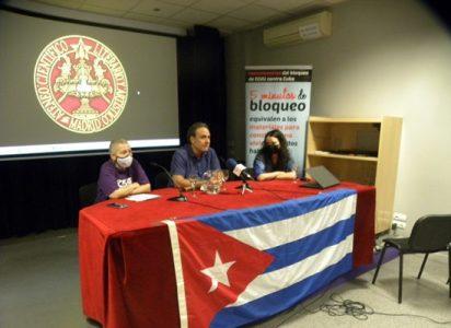 Cuba. «Quien ve el documental `Unblock Cuba´ comprende por qué luchamos contra el bloqueo»: embajador Gustavo Machín en la presentación en Madrid