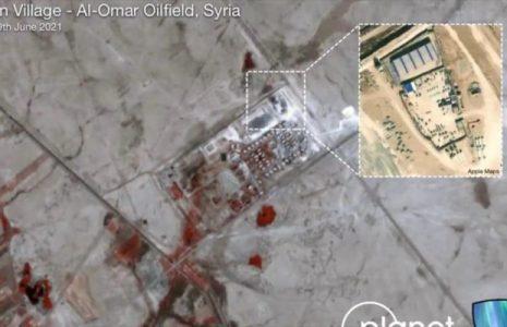 Siria. Fotos satelitales: Base de EEUU   sufrió daños tras ataque