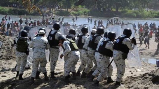 "México. Denuncian defensores ""protagonismo castrense"" de la Guardia Nacional"