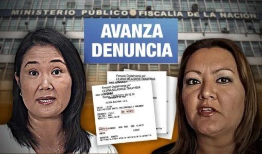 Perú. Inician investigación preliminar contra Keiko y personera legal de Fuerza Popular por vouchers repetidos