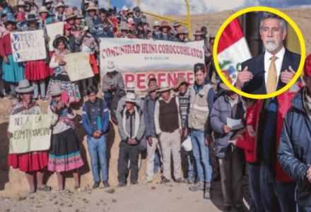 Perú. Espinar: Piden al Pdte. Sagasti reparación territorial por daños mineros