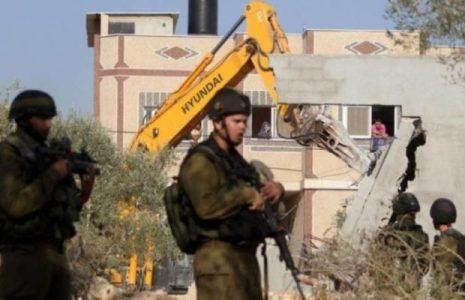 Palestina. Naciones Unidas denuncia que Israel ha demolido 474 estructuras palestinas desde principios de este año