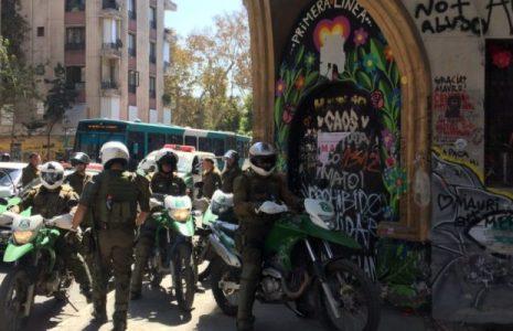 Chile. Otro viernes de homenajes a lxs presxs y lxs asesinadxs /Los carabineros volvieron a reprimir a lxs manifestantes