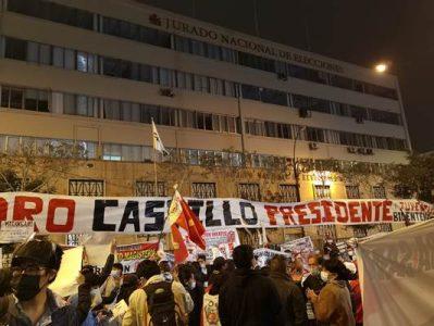 Perú. Venezuela celebra la proclamación de Pedro Castillo como Presidente de la Nación