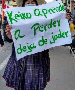 Perú. Keiko Fujimori reconoce resultado electoral, pero sigue cuestionándolo